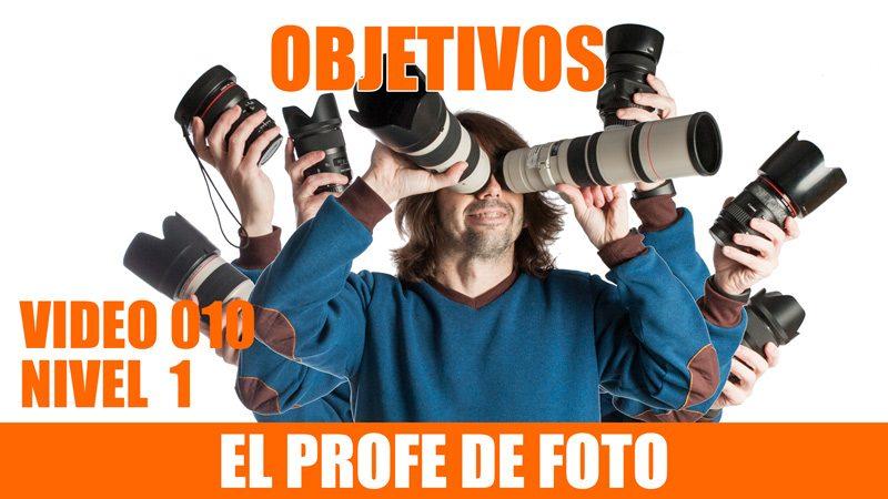 Curso de fotografía. Los objetivos, ópticas, lentes para las cámaras.