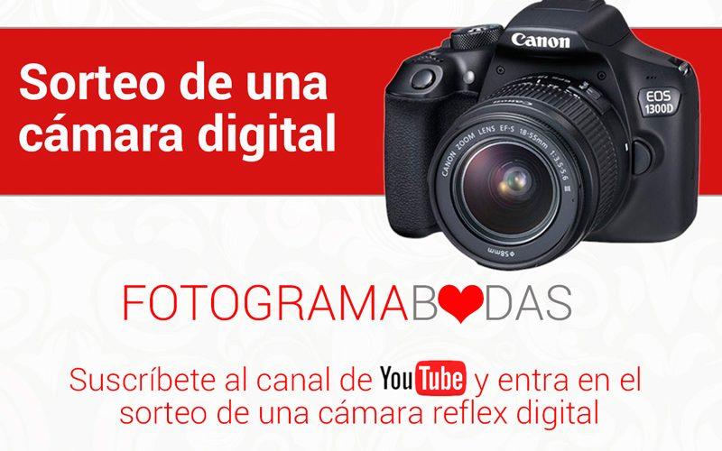 Sorteo cámara reflex digital