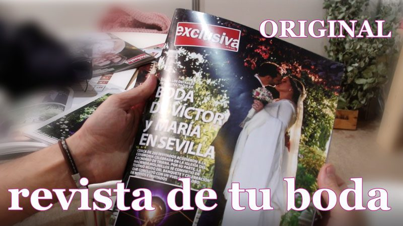 Ideas originales para bodas – REVISTA DE BODA – por La exclusiva de la boda