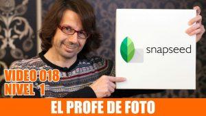 Cómo retocar fotos en el teléfono móvil – Snapseed para android e ios – NOVEDADES 2017