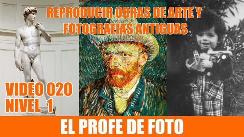 Cómo reproducir cuadros, esculturas y fotografías antiguas con el móvil