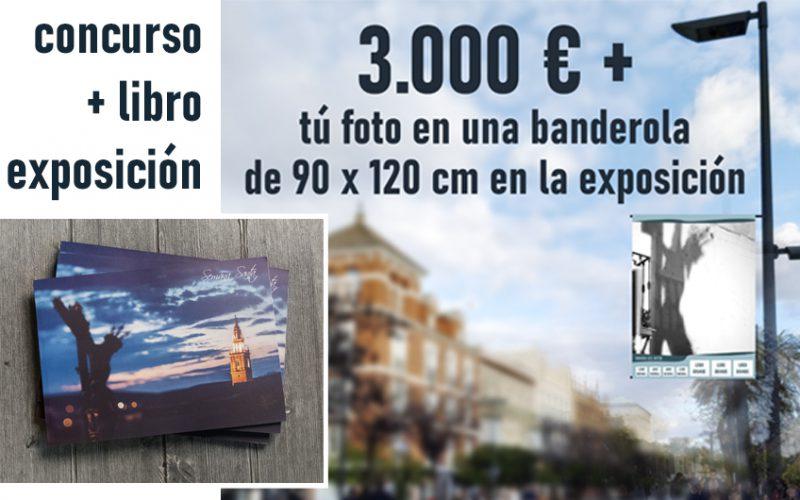 Concurso internacional de Fotografía de Semana Santa, Edición de libro y exposición en la calle en el centro de Sevilla